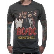 AC/DC H2H Photo T-Shirt Small - Grey
