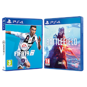 Battlefield V & FIFA 19 PS4 Game