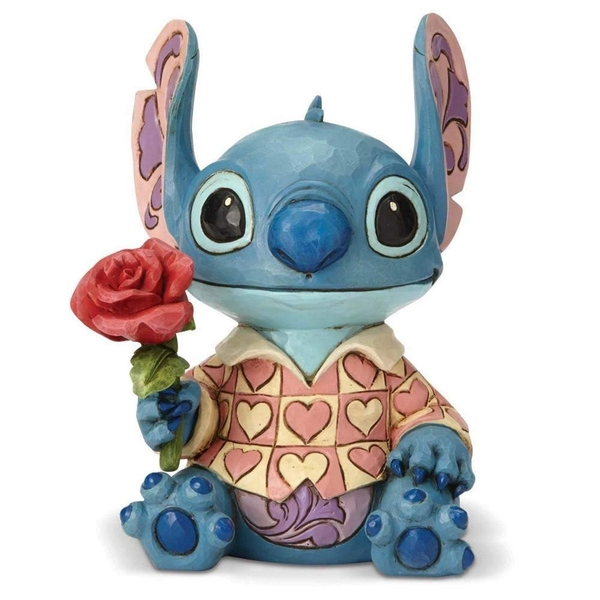 Clueless Casanova (Lilo And Stitch) Disney Traditions Figurine