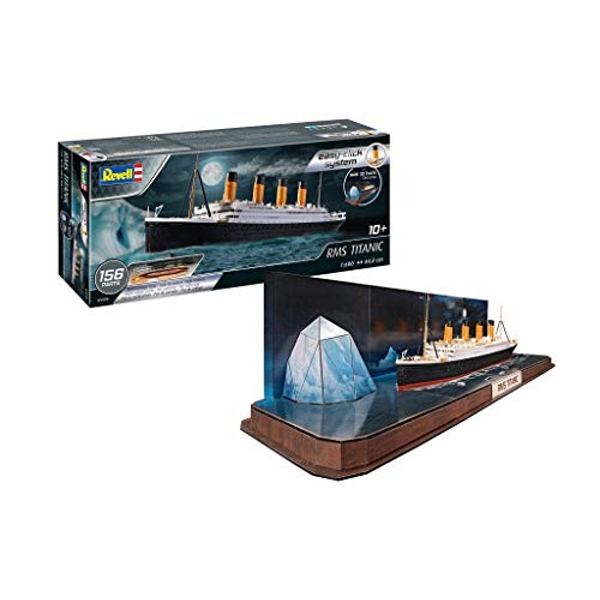 RMS Titanic (easy-click) with 3D Puzzle Iceberg  Revell Model Kit