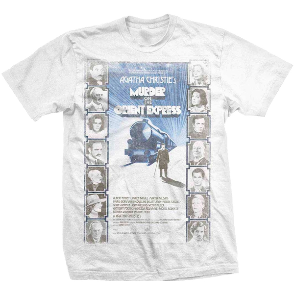StudioCanal - Murder on the Orient Express Unisex Large T-Shirt - White