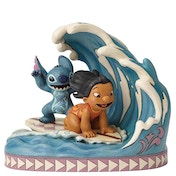 Catch The Wave (Lilo and Stitch 15th Anniversary Piece) Disney Traditions Figurine