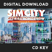 SimCity Cities Of Tomorrow Expansion Pack Limited Edition PC CD Key Download for Origin