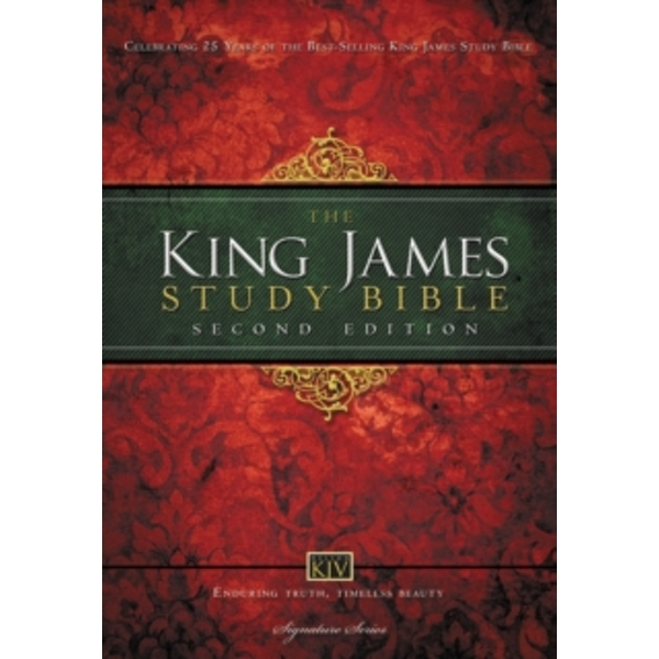 KJV Study Bible, Large Print, Hardcover, Red Letter Edition : Second Edition