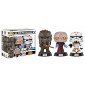 Revenge Of The Sith 3-Pack (Star Wars) Funko Pop! Vinyl Figures