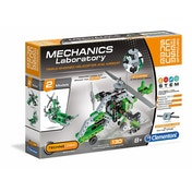 Clementoni Mechanics Lab Helicopter and Airboat Scientific Kit