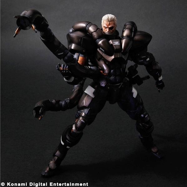 Metal Gear Solid 2 Sons of Liberty Play Arts Kai Solidus Snake Figure