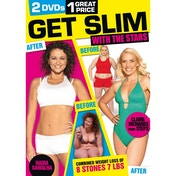 Get Slim With The Stars: Claire Richards & Nadia Sawalha DVD