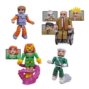 X-Men vs Brotherhood (Marvel 15th Anniversary) Minimates Action Figures
