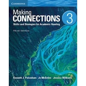 Making Connections Level 3 Student's Book: Skills and Strategies for Academic Reading: 3 by Jessica Williams, Kenneth J. Pakenham, Jo McEntire (Paperback, 2013)