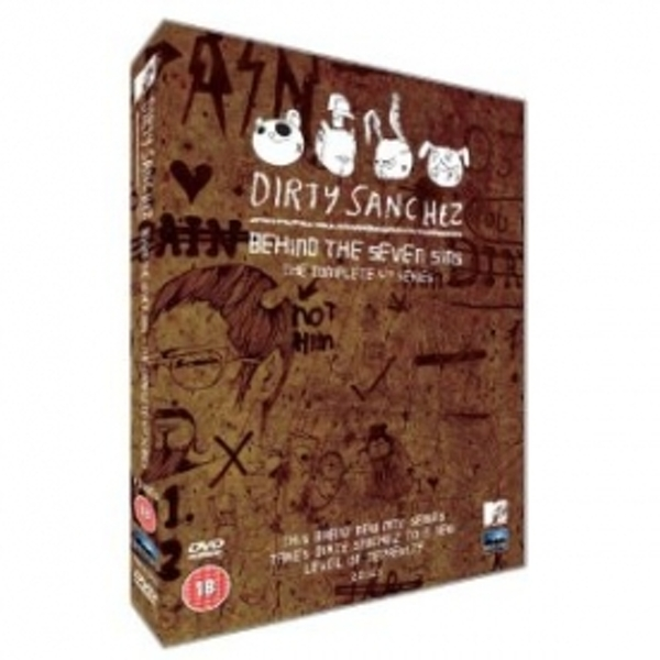 Dirty Sanchez Behind The Seven Sins Season 4 DVD