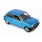 Norev Renault 5 Alpine Turbo 1981 Navy Blue 1:18 Model