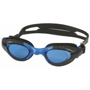 SwimTech Argentum Adult Goggles Black/Blue