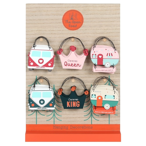The Open Road Mini Hanging Sign [Display]