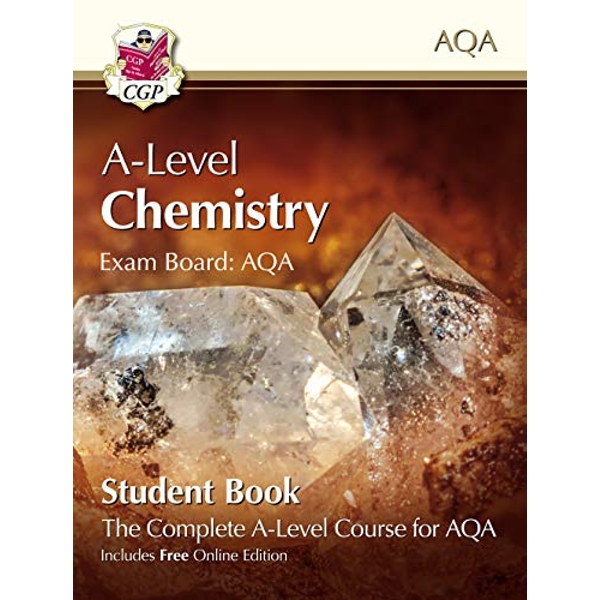 New A-Level Chemistry for AQA: Year 1 & 2 Student Book with Online Edition  Paperback / softback 2018