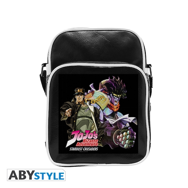 Jojo's Bizarre Adventure - Star Platinum - Vinyl Small Messenger Bag