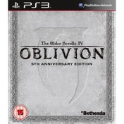 Elder Scrolls IV Oblivion 5th Anniversary Edition Game PS3