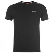 Slazenger Plain T-Shirt Large Black