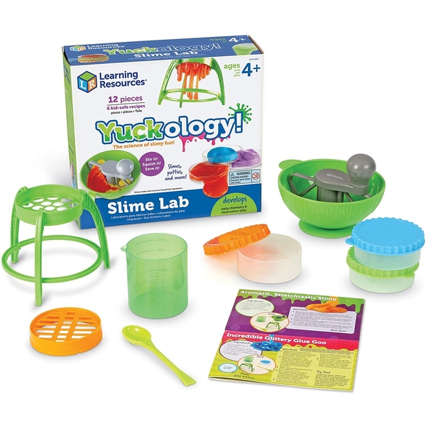 Learning Resources Yuckology Slime Lab Activity Set
