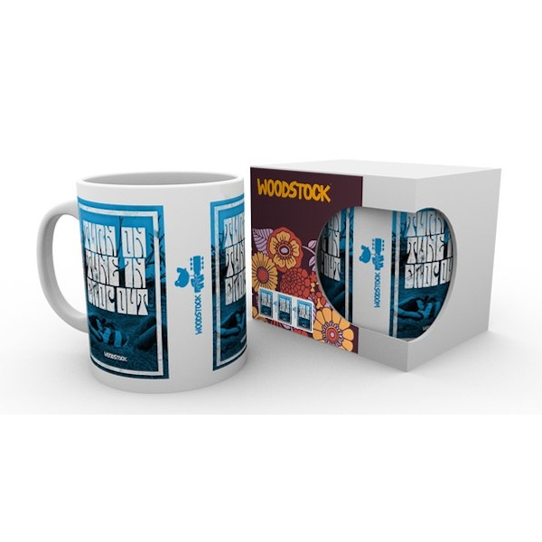 Woodstock - Turn On Tune In Drop Out Mug Gift Set