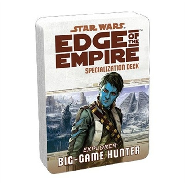 Star Wars Edge of the Empire Big Game Hunter Specialization Deck