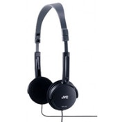 JVC Foldable Light Weight Stereo Headphones Black