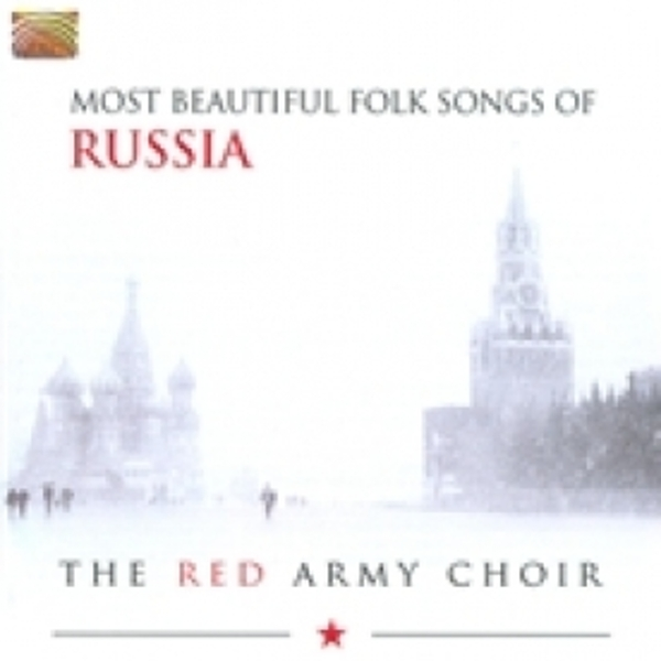 The Red Army Choir Most Beautiful Folk Songs Of Russia CD