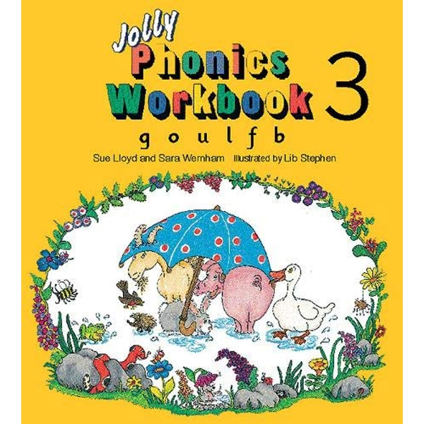 Jolly Phonics Workbook 3: in Precursive Letters (BE) by Sue Lloyd, Sara Wernham (Paperback, 1995)