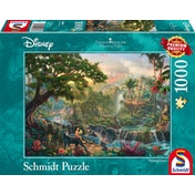 Thomas Kinkade Disney The Jungle Book 1000 Piece Jigsaw Puzzle