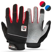 Proworks Cycling Gloves Red - Medium