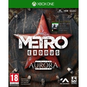 Metro Exodus Aurora Limited Edition Xbox One Game + Sew-On Patch