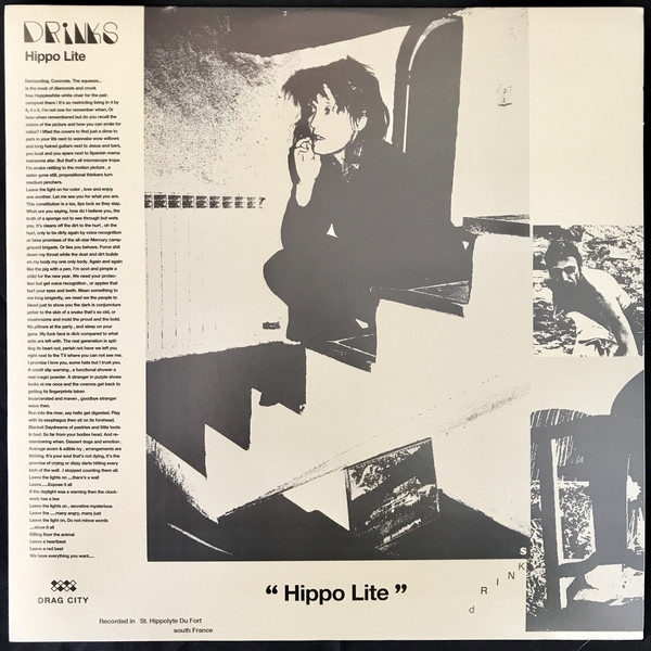 Drinks - Hippo Lite Vinyl