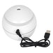 Small Round White USB Powered Aroma Diffuser 150ml - Image 2
