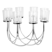 8 Tea Light Candle Holder | M&W Chrome New