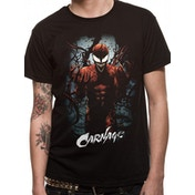 Marvel Now - Carnage Pose Men's Small T-Shirt - Black
