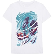 Star Wars - AT-AT Archetype Men's Small T-Shirt - White