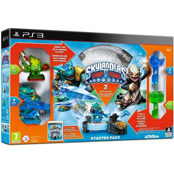 Skylanders Trap Team Starter Pack PS3 Game