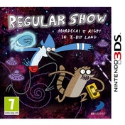 Regular Show Mordecai & Rigby In 8-Bit Land Game 3DS