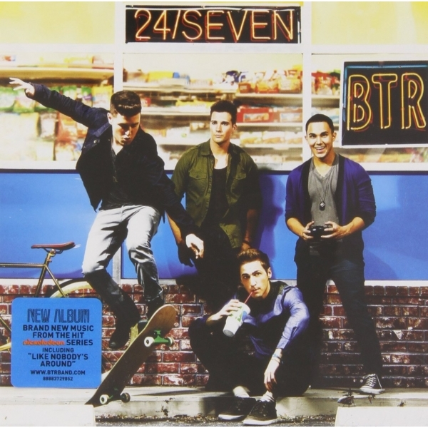 Big Time Rush - 24/Seven CD
