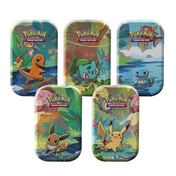 Pokemon TCG:Kanto Friends Mini Tin - 1 at Random