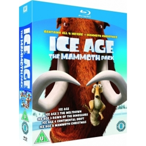 Ice Age 1-4 Plus Mammoth Christmas The Mammoth Collection Blu-ray