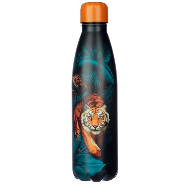 Spots and Stripes Big Cat Stainless Steel Hot & Cold Drinks Bottle 500ml
