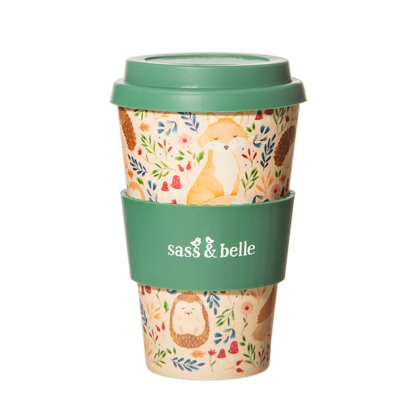 Sass & Belle Forest Folk Bamboo Coffee Cup