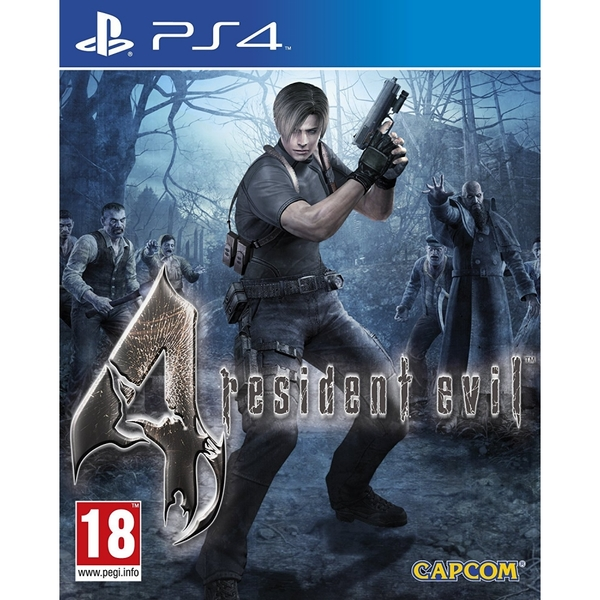 Resident Evil 4 PS4 Game - Image 1
