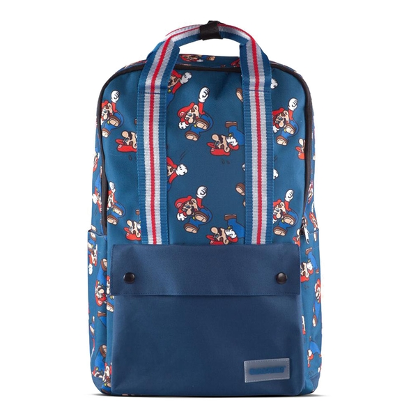 Nintendo - Character Mario All-Over Print Backpack - Blue