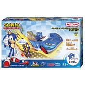 Meccano Sonic The Hedgehog Sonic & Circuit Casino Street Playset