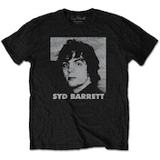 Syd Barrett - Headshot Men's XX-Large T-Shirt - Black