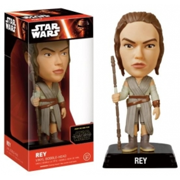 Rey (Star Wars: The Force Awakens) Wacky Wobbler Bobble Head