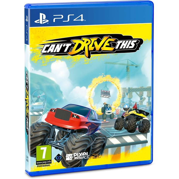 Can't Drive This PS4 Game