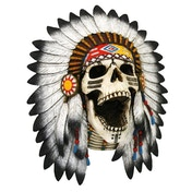 Tribal Cry Skull Wall Art